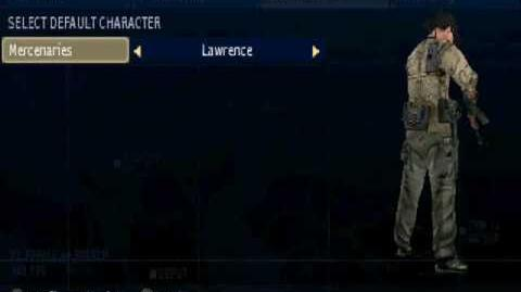 Socom FireTeam Bravo Larry.Legend - Basic Custom Characters