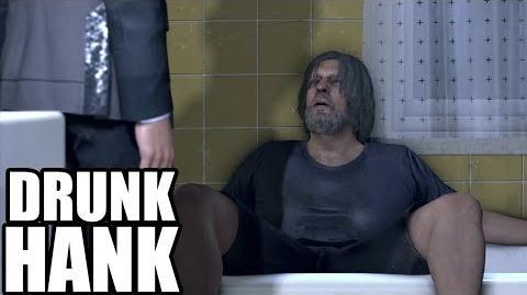 DETROIT Become Human - Drunk Hank Scene - Funny Scene