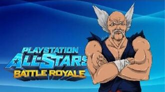 PS All-Stars Battle Royale History - Heihachi Mishima