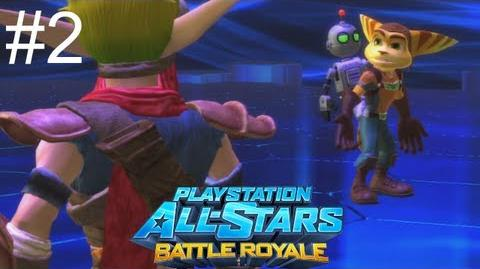 Let's Play Playstation All Stars Battle Royale Part 2 Ratchet End-0