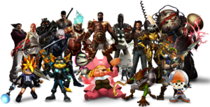 Characters preorder