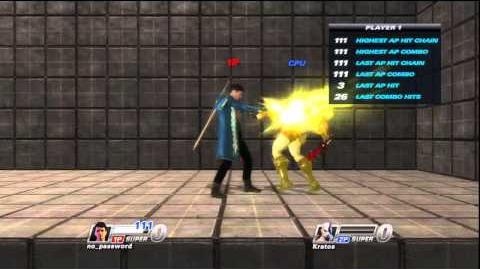Playstation All-Stars Battle Royale Dante Touch of Death