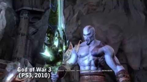 PS All-Stars Battle Royale History - Kratos