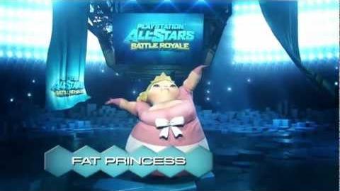 PlayStation® All-Stars Battle Royale™ - Fat Princess