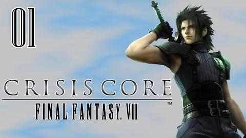 Crisis Core Final Fantasy VII Gameplay ITA 1 Zack Fair SOLDIER 2a Classe
