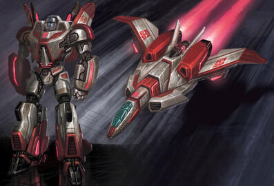 Jetfire war for cybertron
