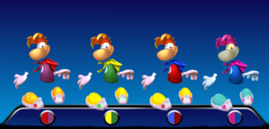 Rayman Color Palletes 1