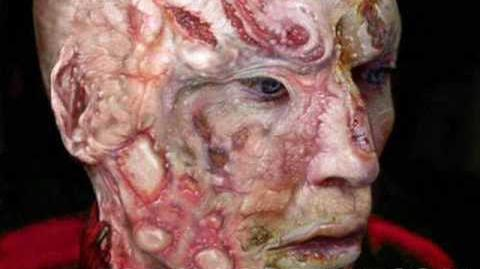 Jackie Earle Hayley's Freddy Krueger Test Make Up