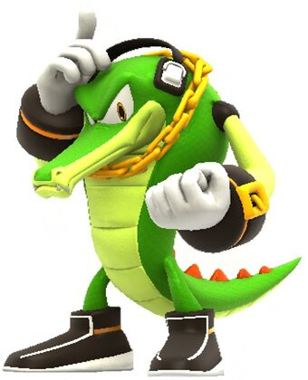 Vector The Crocodile Playstation All Stars Fanfiction Royale Wiki Fandom