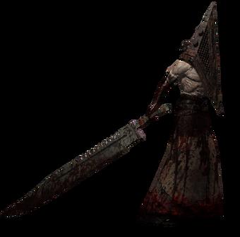 silent hill movie pyramid head skin rip