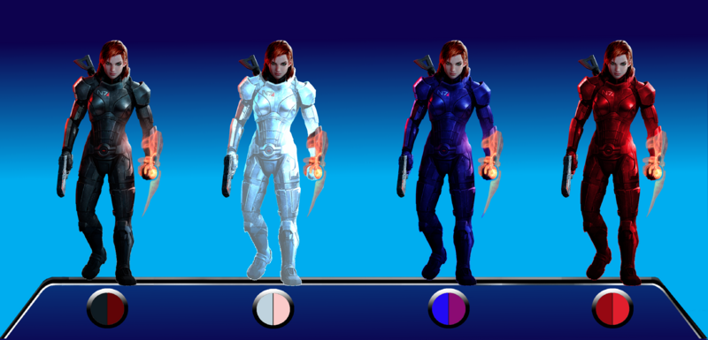 Shepard Outfit Colours