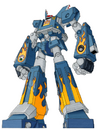 Megas XLR Sketch and Color by wingedmonkee