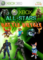 Xbox All-Stars Cover Art