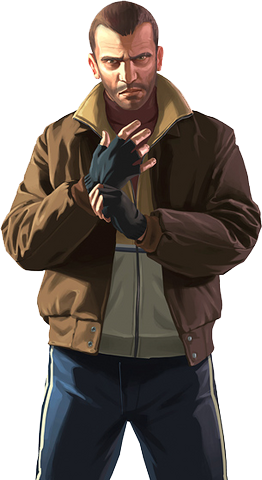 Niko Bellic Playstation All Stars Fanfiction Royale Wiki