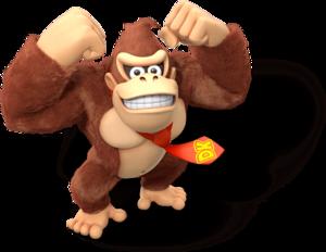 Donkey Kong Artwork (alt) - Donkey Kong Country Tropical Freeze