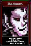 Badman icon