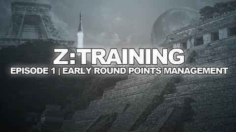 Z Training Early Round Point Management