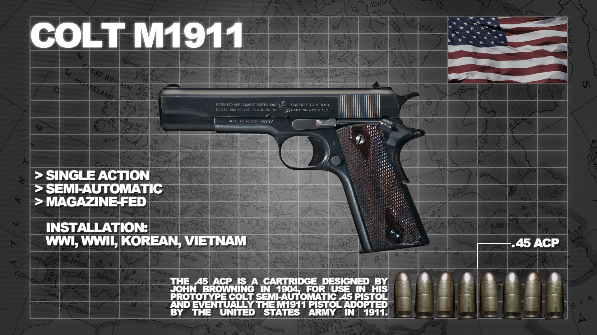 The Colt M1911 Mustang Amp Sally C 3000 B1at Ch35