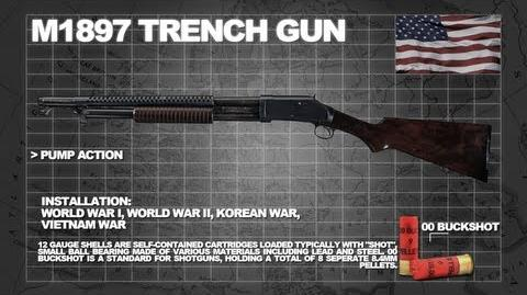 Z Armoury (Nazi Zombies Weaponry Guide) - The M1897 'Trench Gun' (The Gut Shot)
