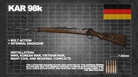 Z Armoury (Nazi Zombies Weaponry Guide) - The 'Kar98k' (Armageddon)