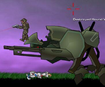 CS Destroyed Hound Walker
