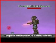 Grenade teleport 2