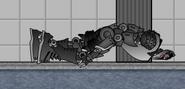 Robot Omega Corpse