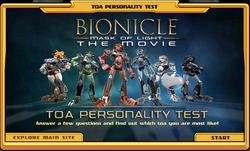 Toa Personality Test