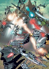 Comic Battle for the Codrex
