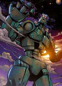 Comic Great Spirit Teridax on Bara Magna