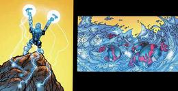 Comic Gali Creating Water