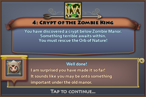 Crypt of the Zombie King