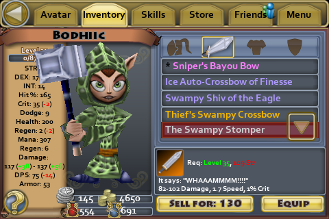 The Swampy Stomper
