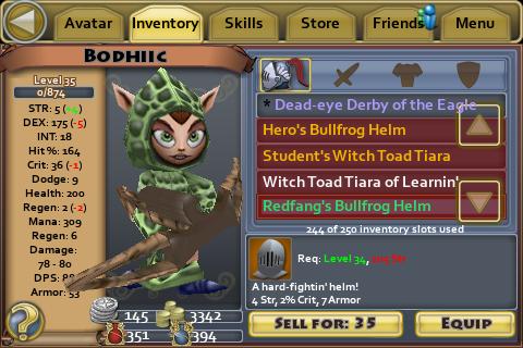 Redfang Bullfrog Helm