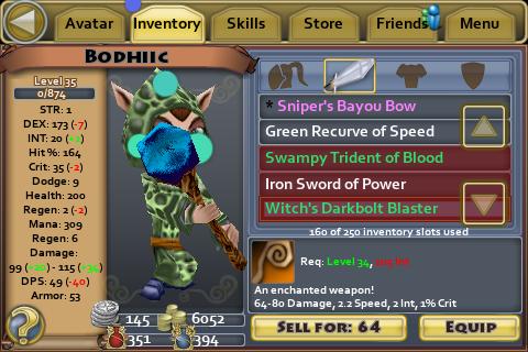 Witches Darkbolt Blaster