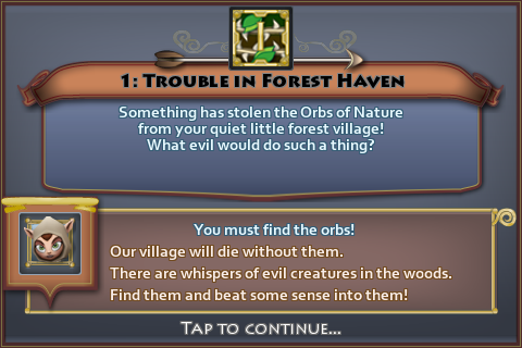 Trouble in Forest Haven