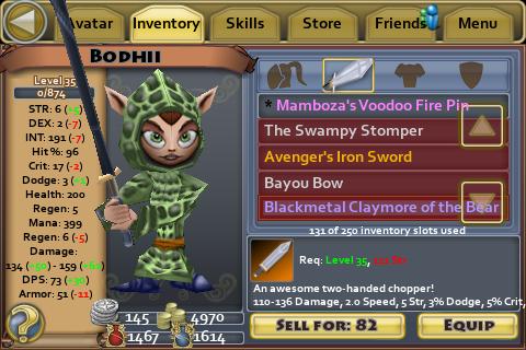 Blackmetal Claymore of the Bear