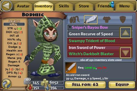 Iron Sword of Power