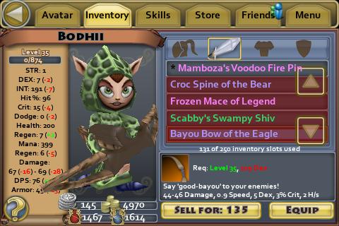 Bayou Bow of the Eagle