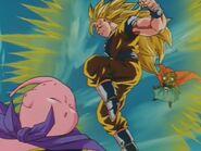Goku SSJ3 kontra Majin Bu (1)
