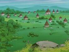 Wioska na planecie Kelbo