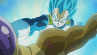 Vegeta SSJGSSJ vs Golden Freezer