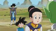 Zamasu, Son Goten, Chichi i Son Goku