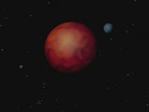 Planeta Arlia i dwa sąsiadujące ciała niebieskie