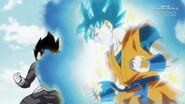 Goku SSJB i Vegeta (SDBH, odc. 001)