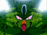 Cell używa Taiou-kena
