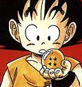 Goku z kulą