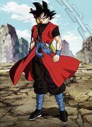 Son Goku; Xeno (1) (SDBH, odc. 001)