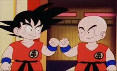 Goku i Kulilin na TB22