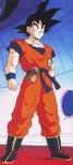 Goku wewnątrz statku - tuż po lądowaniu na Namek